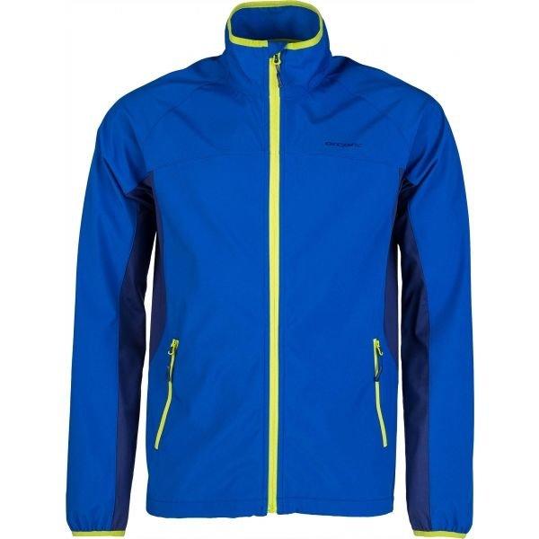 Modrá pánská běžecká bunda Arcore