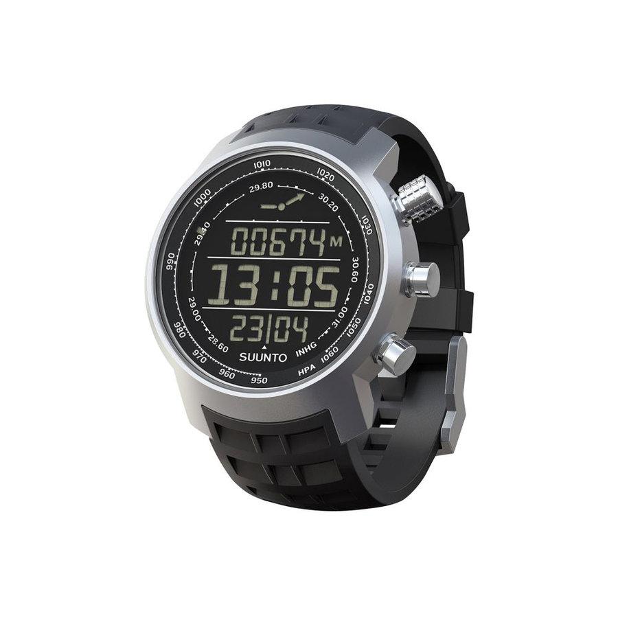 Černé digitální hodinky Elemenum Terra, Suunto