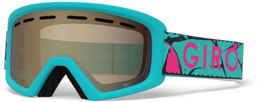 Modré dětské lyžařské brýle Giro