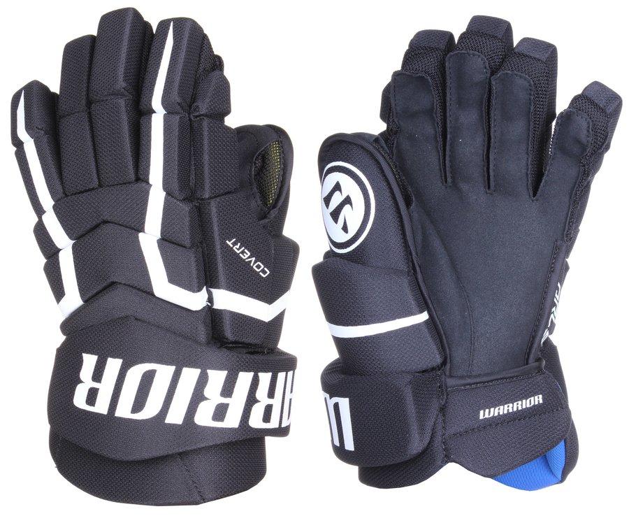 Černé hokejové rukavice Covert QRL5, Warrior