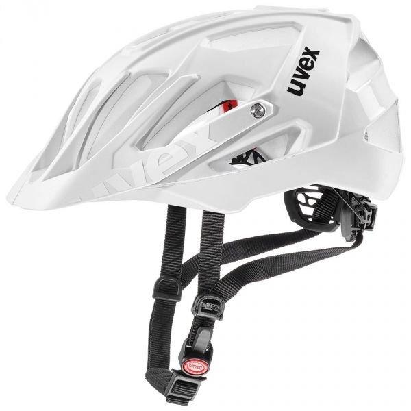 Bílá cyklistická helma Uvex