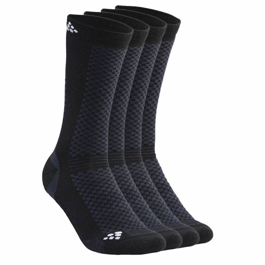 Pánské ponožky Warm, Craft - velikost 34-36 EU - 2 ks