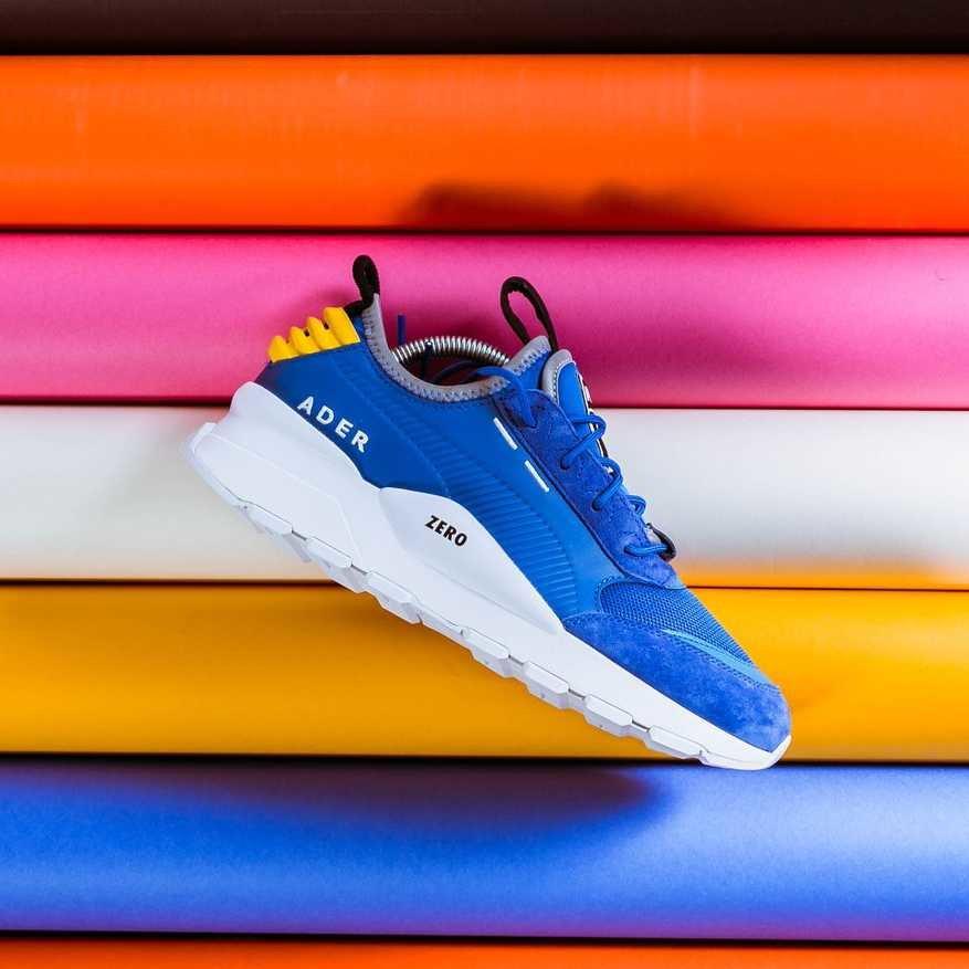 Modré pánské běžecké boty ADER ERROR, Puma - velikost 42 EU