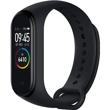 Černý fitness náramek Mi Band 4, Xiaomi