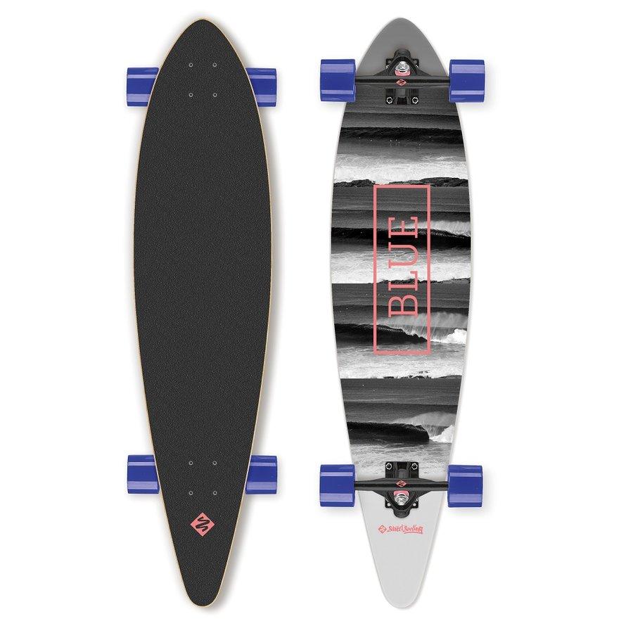 """Longboard - Longboard Street Surfing Pintail - Surfs Up 40"""""""