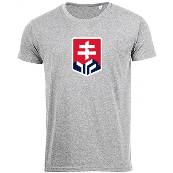 Šedé dětské tričko s krátkým rukávem Střída