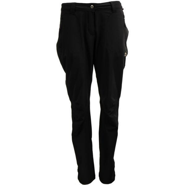 Černé softshellové dámské kalhoty Alpine Pro - velikost 34