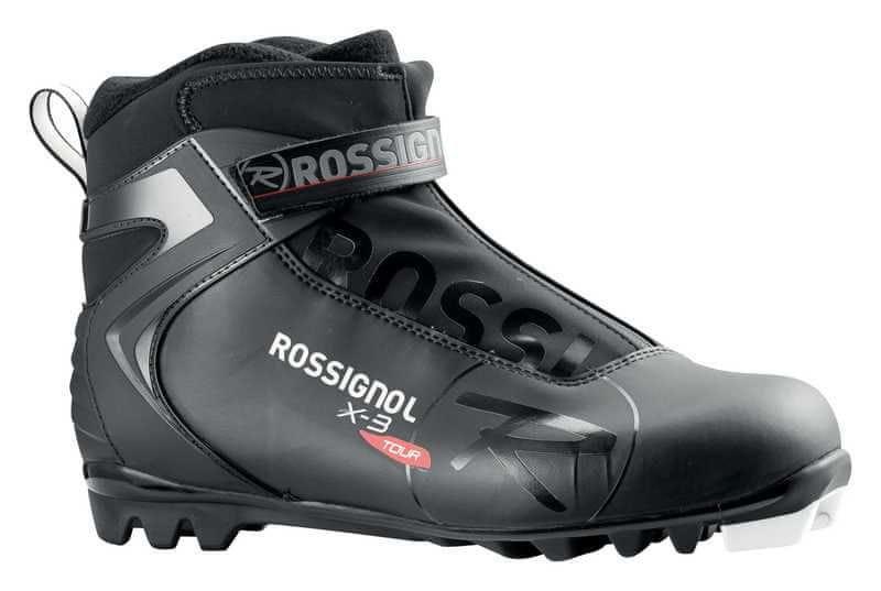 Černé pánské boty na běžky Rossignol