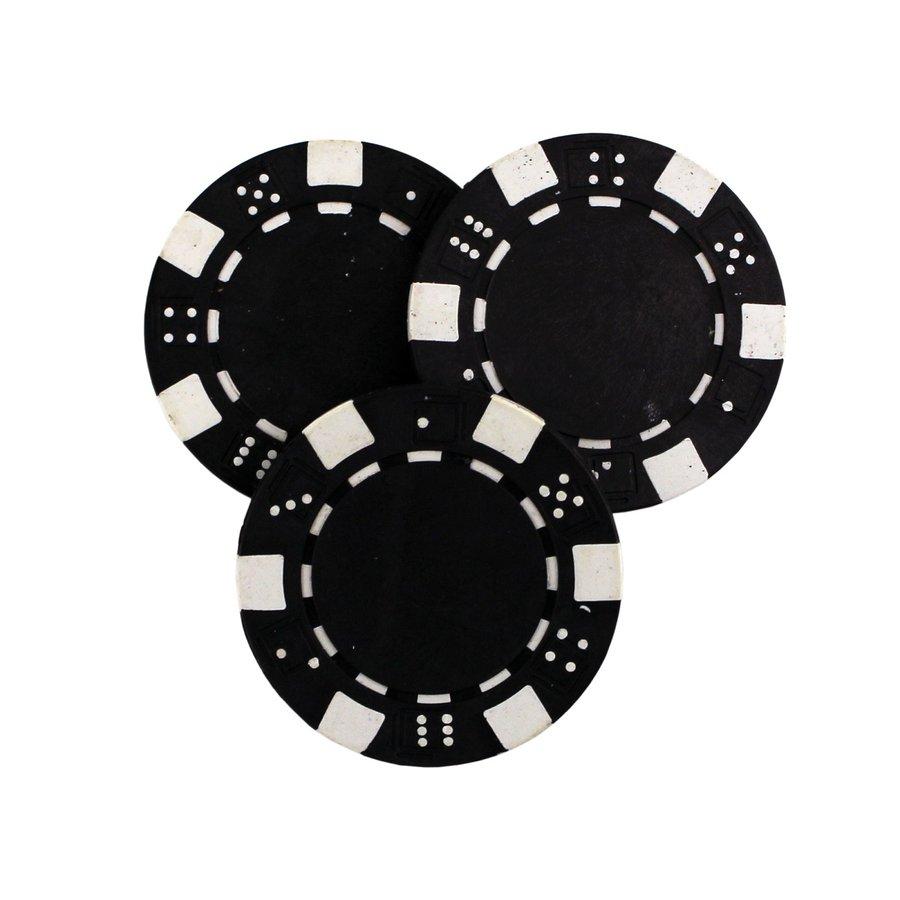 Žetony na poker - Poker žeton MASTER - černý