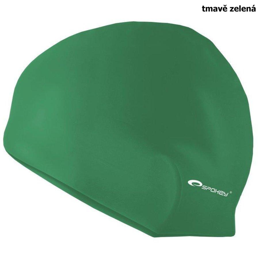 Zelená pánská nebo dámská plavecká čepice SUMMER, Spokey