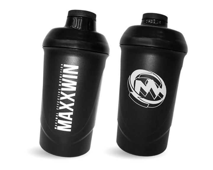 Černý shaker MaxxWin - objem 600 ml