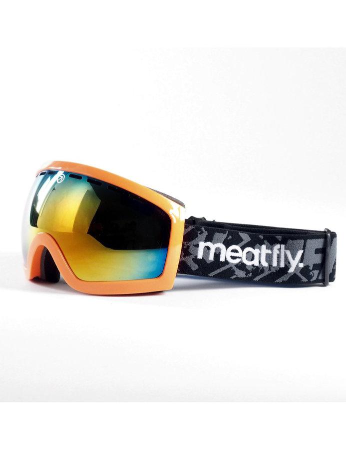 Lyžařské brýle - Meatfly Sphere 2 B-Safety Orange/Red Chrome Velikost: JEDNOTNÁ VELIKOST