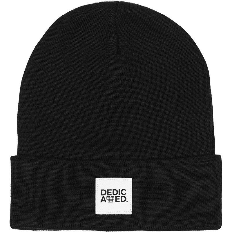 Černá zimní čepice Dedicated - univerzální velikost