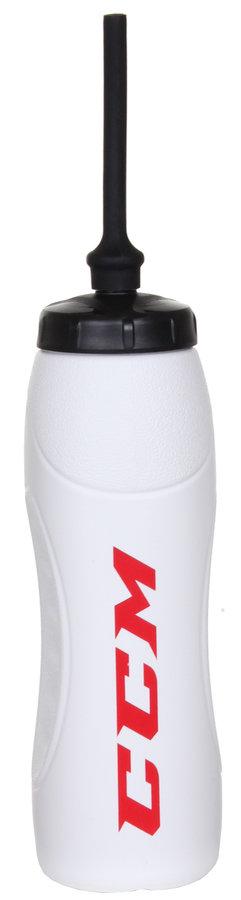 Bílá láhev na pití CCM - objem 1 l
