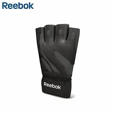 Černé pánské fitness rukavice Reebok - velikost M-L