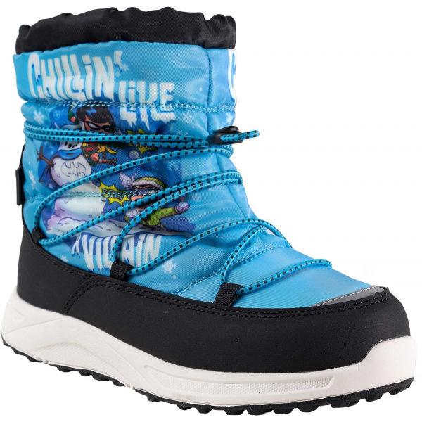Modré dětské zimní boty 2117 of Sweden - velikost 31 EU