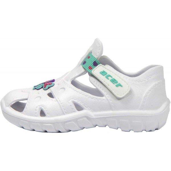 Bílé dětské sandály Acer