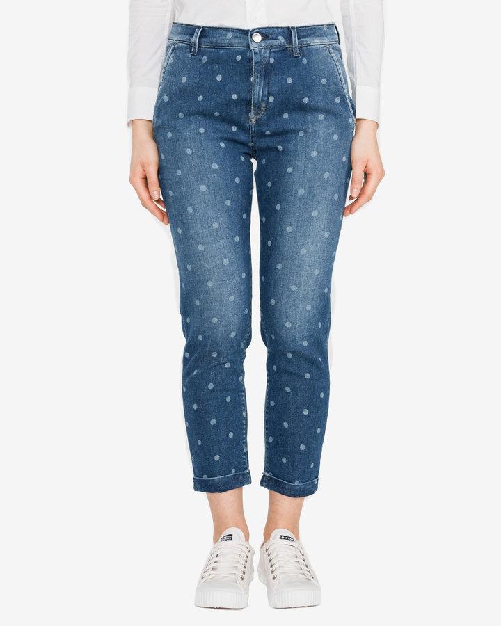 Modré dámské džíny GAS - velikost 29