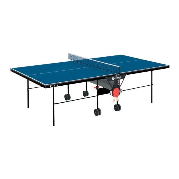 Modrý vnitřní stůl na stolní tenis S1-27i, Sponeta
