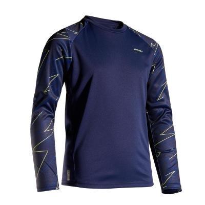 Modré chlapecké tenisové tričko Artengo