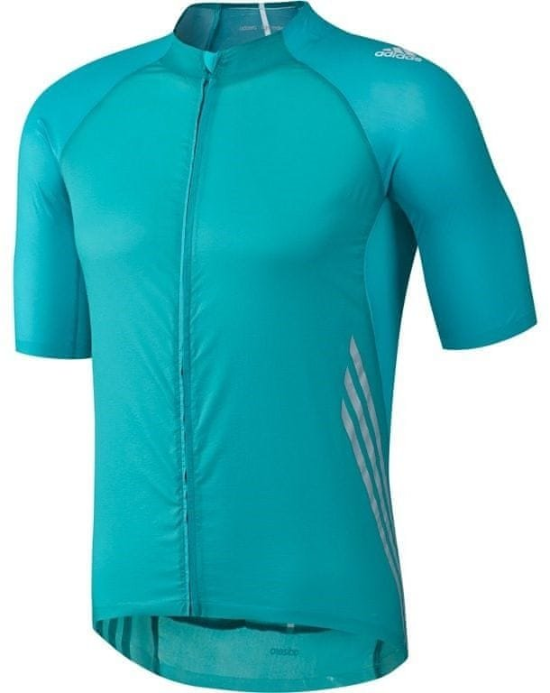 Zelený pánský cyklistický dres Adidas