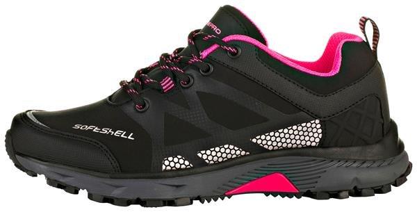 Černé trekové boty Alpine Pro - velikost 42 EU