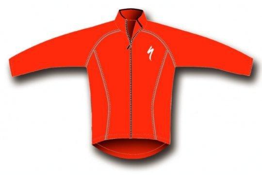 Červená pánská cyklistická bunda Specialized - velikost L