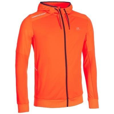Oranžová pánská bunda na atletiku Kalenji