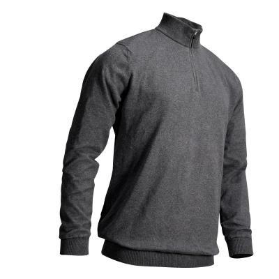 Šedý pánský golfový svetr Inesis