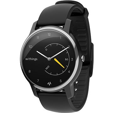 Černé chytré pánské hodinky Move ECG, Withings