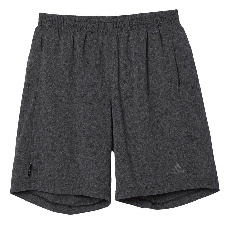 Černé pánské běžecké kraťasy Adidas - velikost M