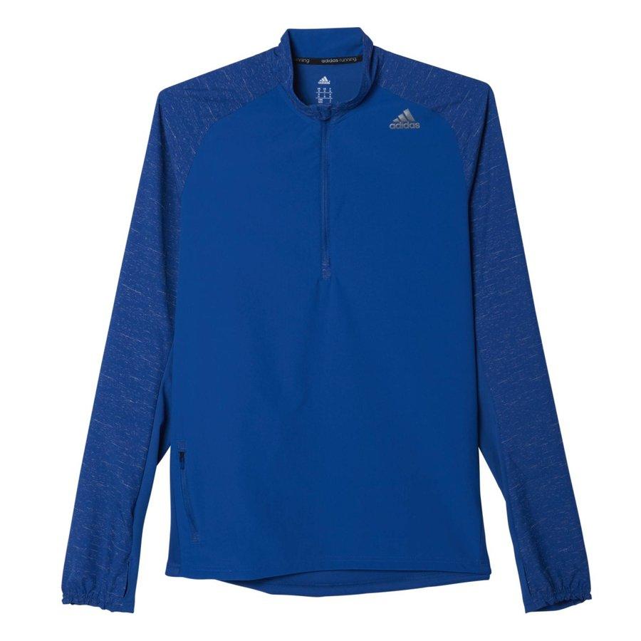Modrá běžecká bunda Sn Stm, Adidas - velikost L