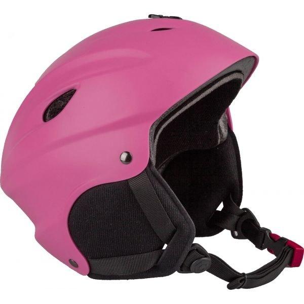 Růžová dámská lyžařská helma Arcore