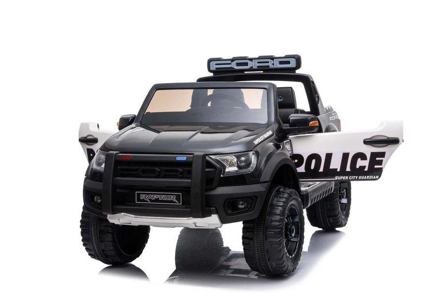 Bílo-černé dětské elektrické autíčko Ford Raptor, Beneo