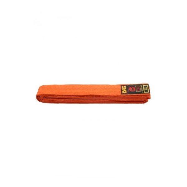 Oranžový judo pásek Dax - délka 280 cm