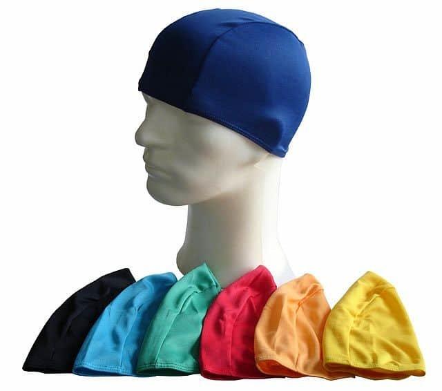 Modrá pánská nebo dámská plavecká čepice Acra