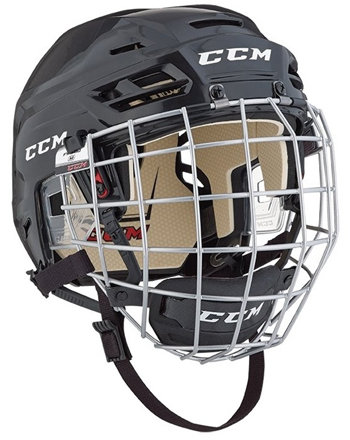Červená hokejová helma - senior Tacks 110, CCM