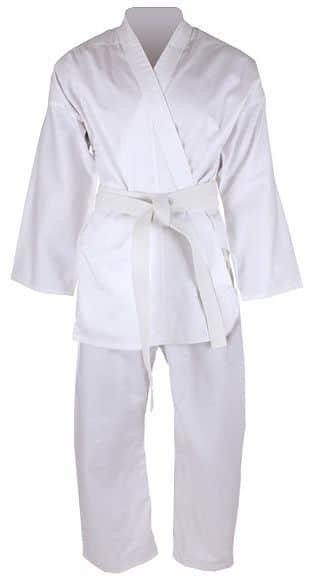 Bílé kimono na karate Merco