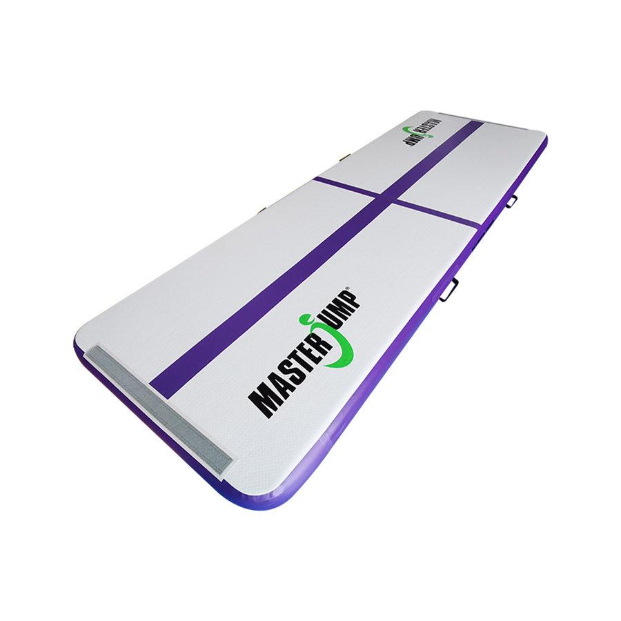 Fialový airtrack Masterjump - délka 300 cm a šířka 100 cm