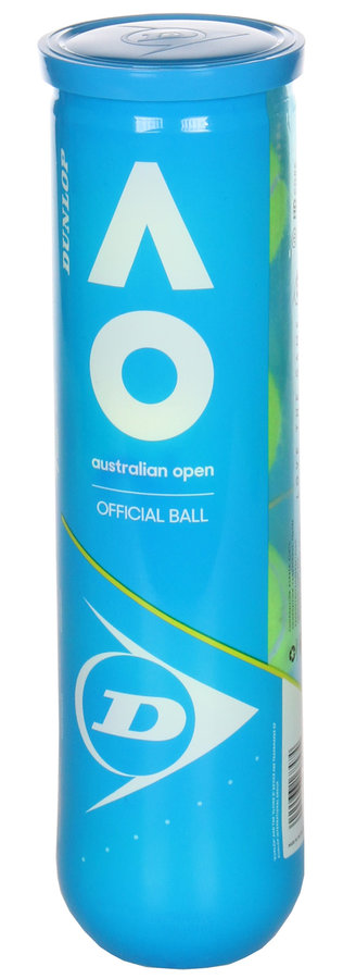 Tenisový míček - Dunlop Australian Open 4 ks