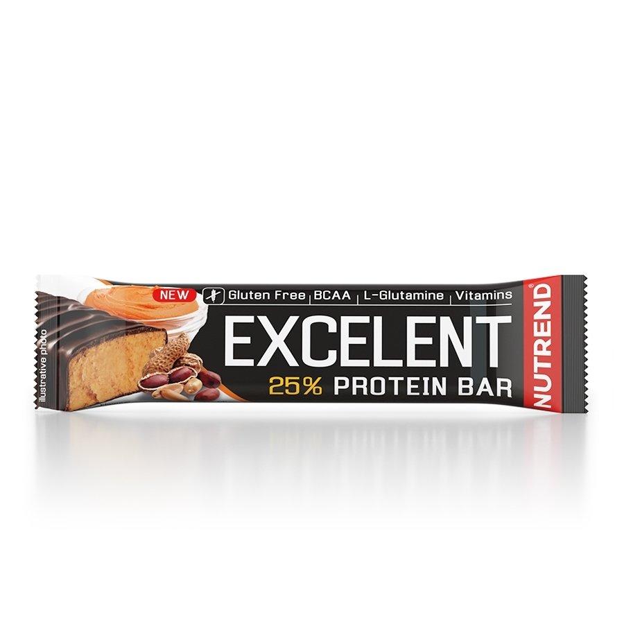 Proteinová tyčinka - NUTREND Excelent protein bar 85 g arašídové máslo