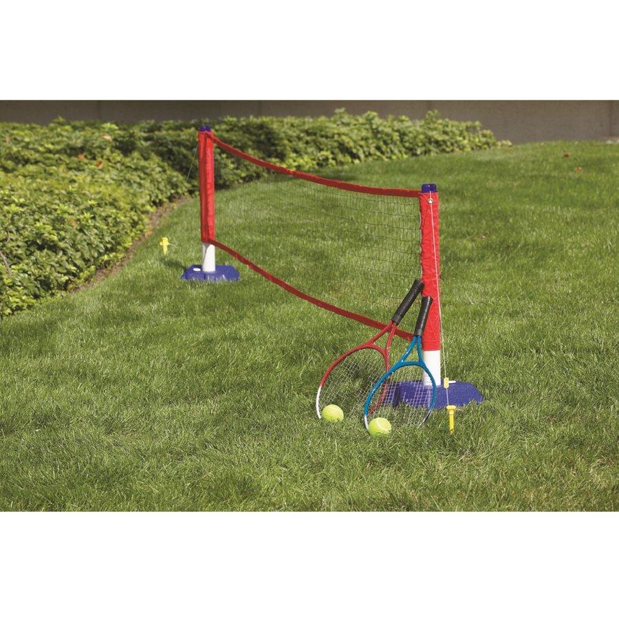 Tenisová sada - Tenisový set MASTER - 2 ks raketa síť a míčky