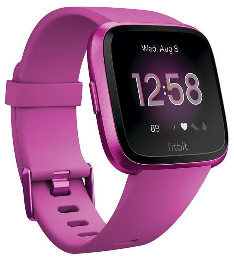 Růžové digitální chytré hodinky Versa Lite, Fitbit