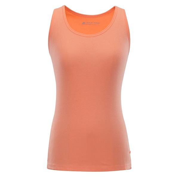Oranžové dámské tílko Alpine Pro - velikost XS