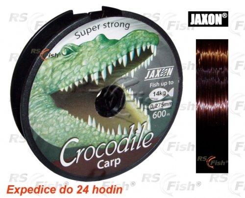 Rybářský vlasec - Jaxon® Vlasec Jaxon Crocodile Carp 0,325 mm
