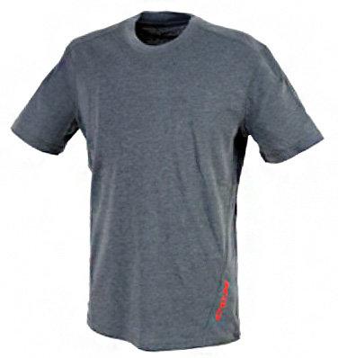 Šedé pánské tričko s krátkým rukávem CCM