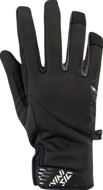Černé pánské rukavice na běžky Silvini
