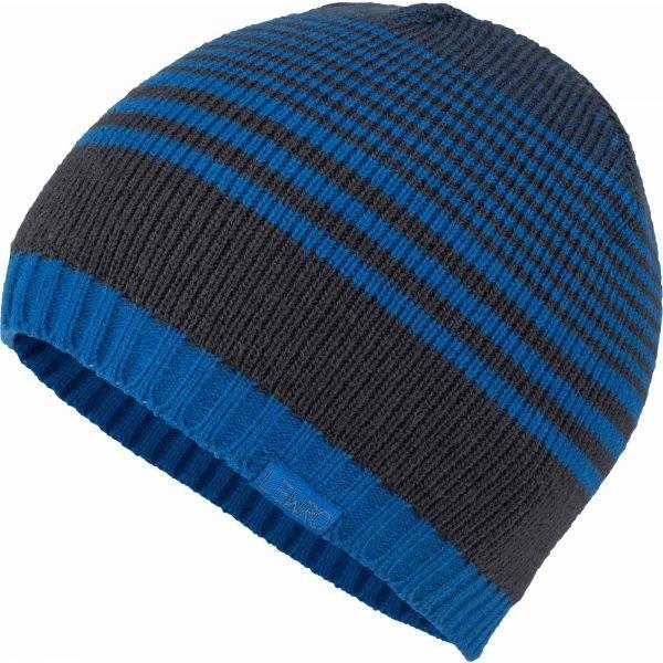 Modrá chlapecká zimní čepice Lewro