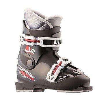 Černé dětské lyžařské boty Alpina
