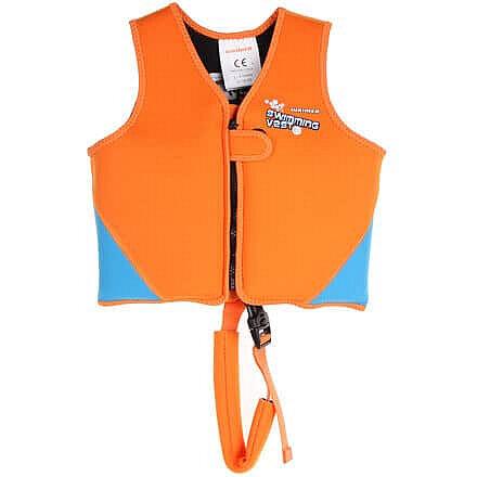 Modro-oranžová dětská plavecká vesta Waimea